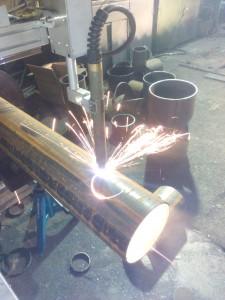 Оборудование для плазменной резки стальных труб